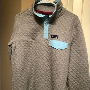 BNWT ladies Patagonia snap T pullover